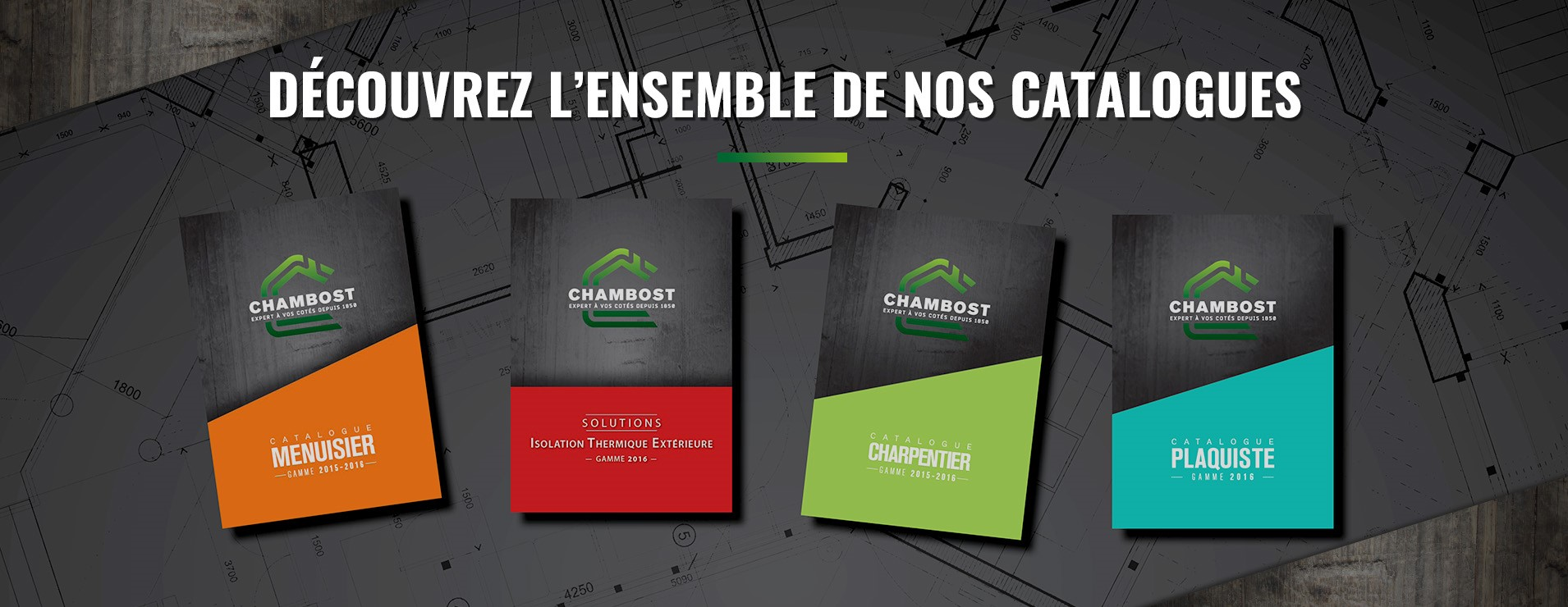 CHAMBOST MATERIAUX - Nos catalogues