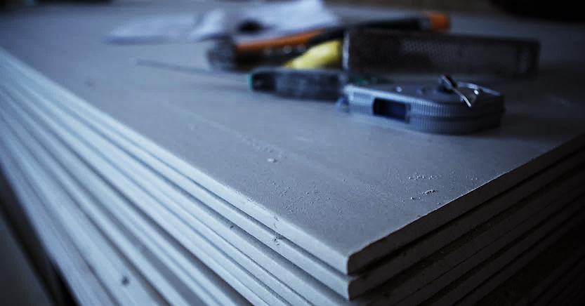 Plaque de plâtre pour construction et rénovation - Chambost Matériaux - Romans Reyrieux Le Thor Domène
