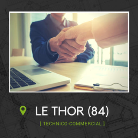 TECHNICO-COMMERCIAL SÉDENTAIRE (H/F)