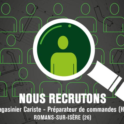 Magasinier Cariste – Préparateur de commandes