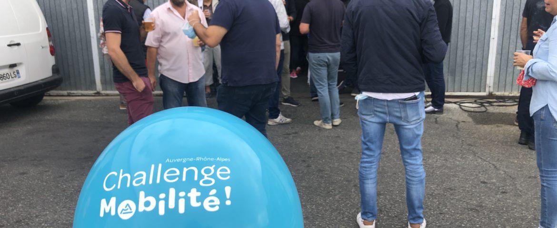 Chambost participe au Challenge Mobilité Auvergne Rhône Alpes